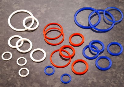 High temperature O-ring seals