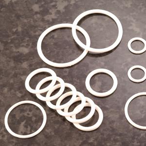 White rubber O Rings